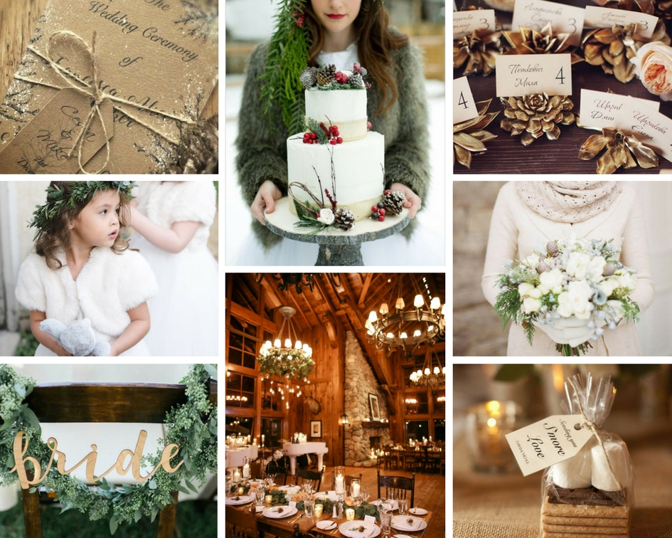 winter wedding inspiration, nature, outdoorsy